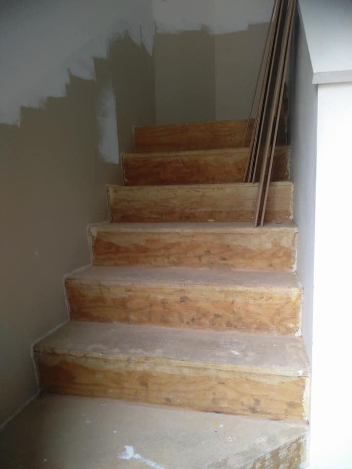 Renovatie trap: voor
